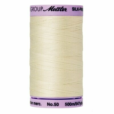 Silk Finish 50wt Candlewick 9104 3000 Mettler