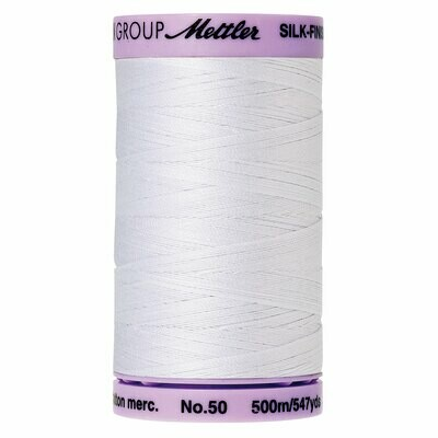 Silk Finish 50wt White 9104 2000 Mettler