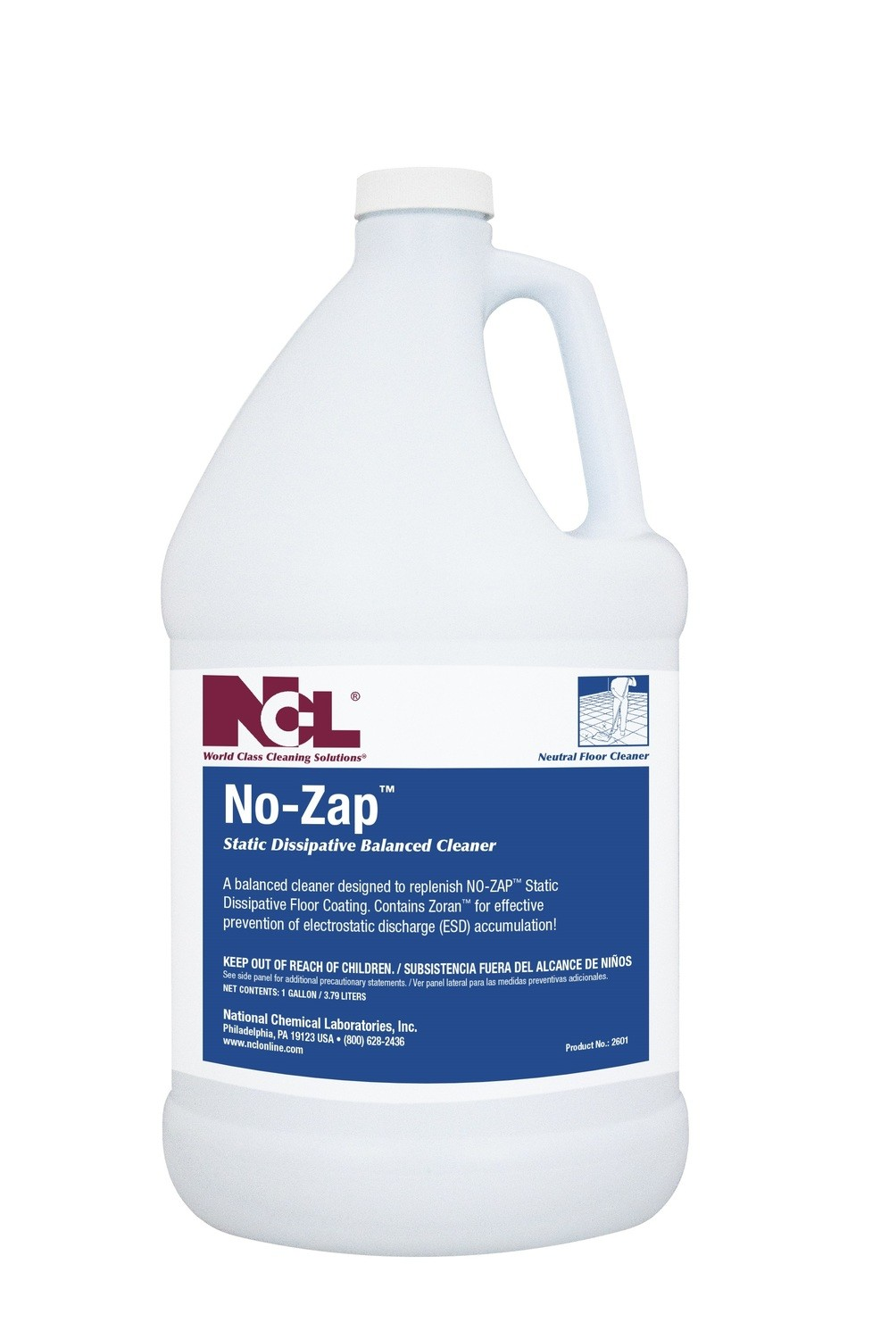 NCL No-Zap Dissipative Cleaner (Gal.)