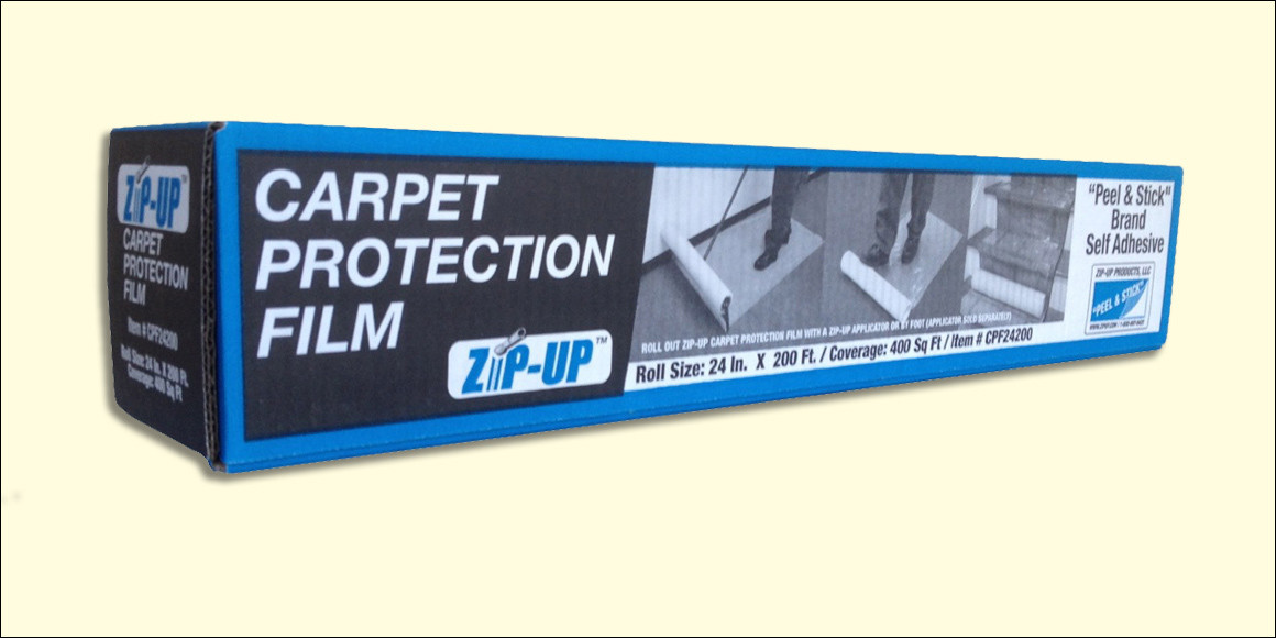 """Carpet Protection Film by ZipUp     36"""" x 200'"""