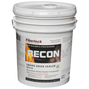 Fiberlock Recon Smoke and Odor Sealant, White (5 Gal.)