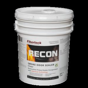 Fiberlock Recon Smoke and Odor Sealant, Clear (5 Gal.)