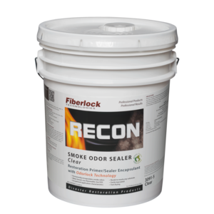 Fiberlock Recon Smoke and Odor Sealant, Clear (5 Gal.)