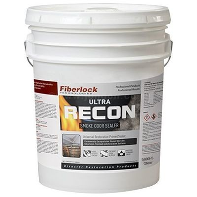 Fiberlock Recon Ultra CLEAR Smoke & Odor Sealer (5 Gal.)