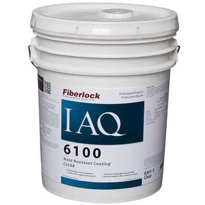Fiberlock IAQ 6100 Mold Resistant Coating CLEAR (5 Gal.)