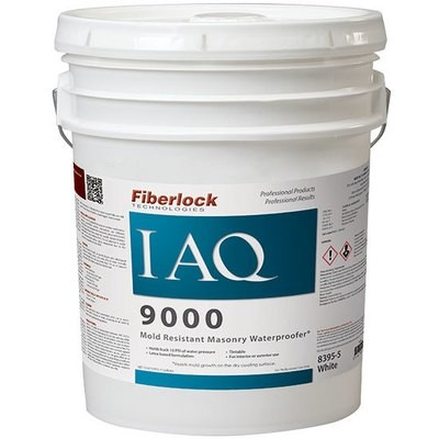 Fiberlock IAQ 9000 Mold Resistant Water-Proofer WHITE (5 Gal.)