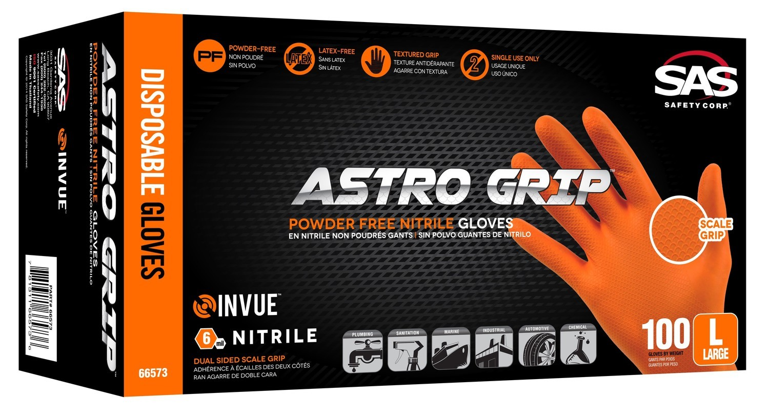 Astro-Grip Nitrile Disposable Glove (100 ct.)  Select Size