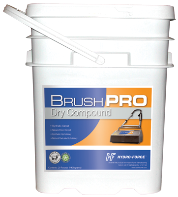 Brush Pro Dry Carpet Compound (20lbs.)