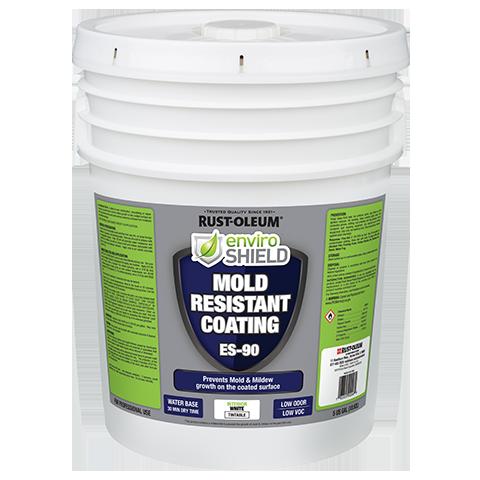 Enviroshield Mold Resistant Coating, Wht (5 gal.)