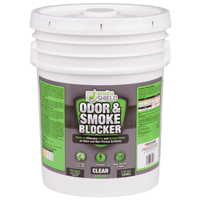 Enviroshield Odor and Smoke Blocker, Clr (5 gal.)