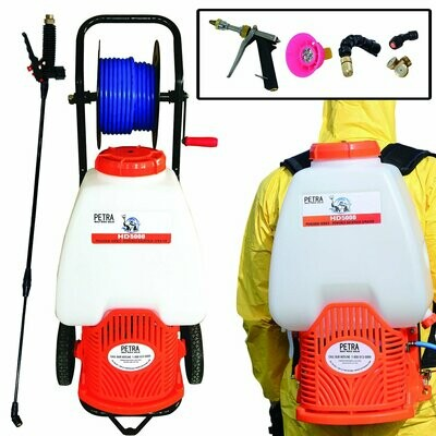 Petra Battery-Powered Backpack Sprayer w/ Cart
