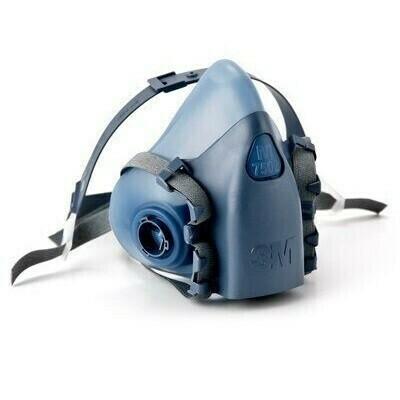 3M Half Face Respirator - Medium