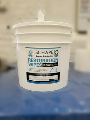 Schaper's XL Disinfectant Wipes Master Kit