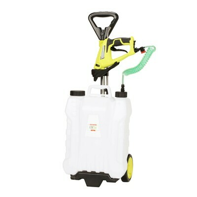 Shower Max 4-Gallon Roller Sprayer w/ 7.2V Spray Gun