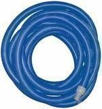 """1.5"""" x 50' - Blue Vacuum Hose with Cuffs"""