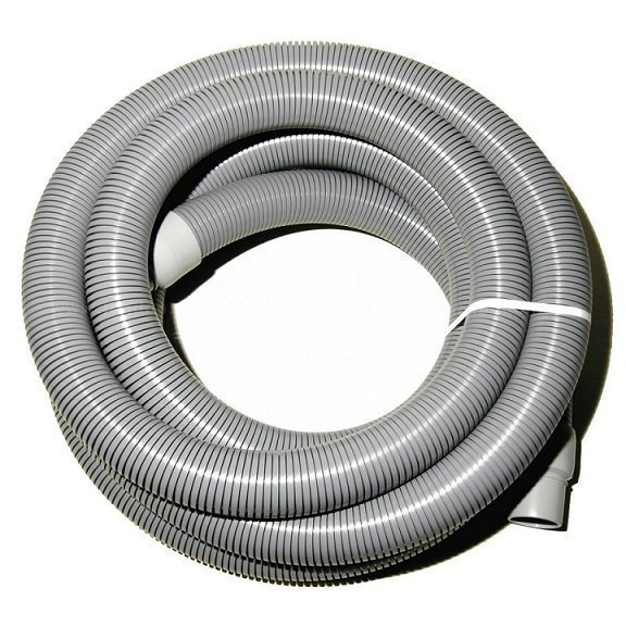 """Gray Vacuum Hose with Cuffs, 2"""" X 50'"""