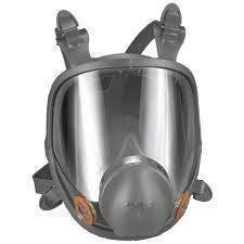 3M Full Face Respirator 6000 Series (Med.)