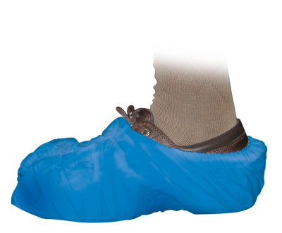 Blue Shoe Covers   50 Pack