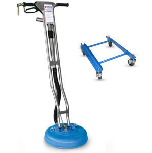 "Turbo Force Hybrid 15"" Tile Tool w/ Concrete Adapter"