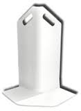 White Corner Guard | Wall Protection