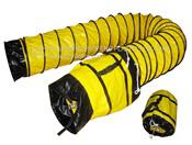 Yellow Flex Duct w/Bag, 12