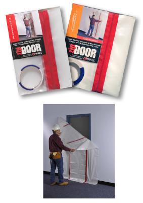 Zipwall Zip Door, Commercial