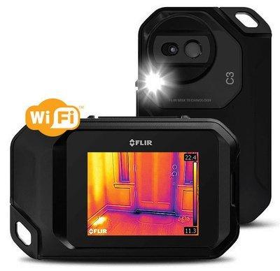 FLIR C3 Thermal Imaging Camera w/ Wi-Fi