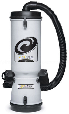 Pro Team LineVacer 10qt HEPA Backpack Vacuum