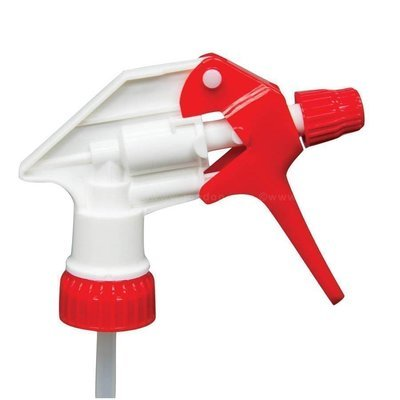 Red and White Trigger Sprayer Head
