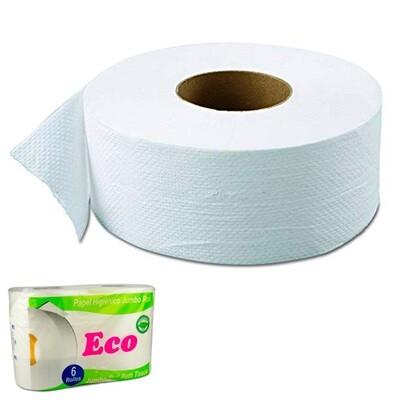 Rollo papel higienico 400 mts