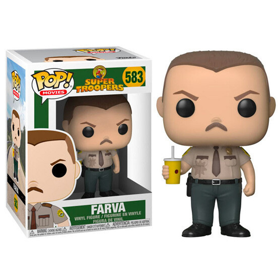 Funko POP Super Troopers Farva
