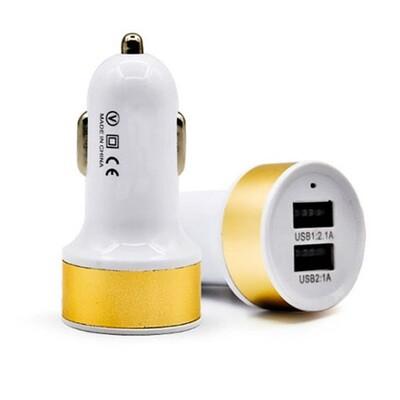 Cargador USB Doble para carro