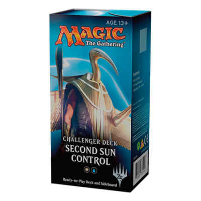 Magic CHALLENGER DECKS Second sun control
