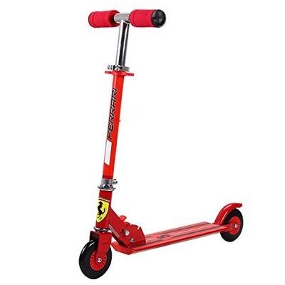 Scooter Ferrari rojo