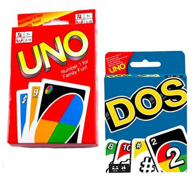 Juego de mesa UNO y DOS
