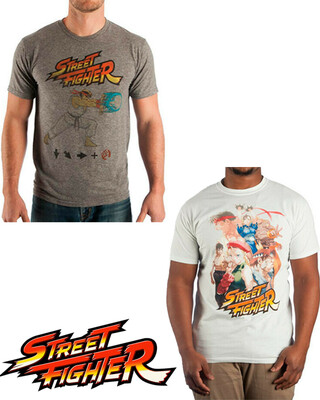 Tshirt Street Fighter Original