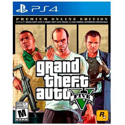 PS4 Grand Theft Auto V Premium