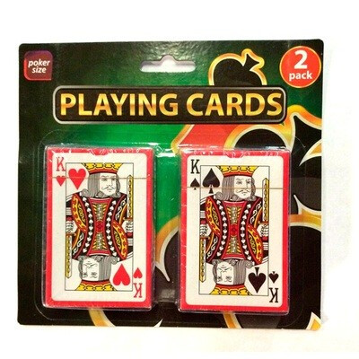 Cartas poker (2 sets)