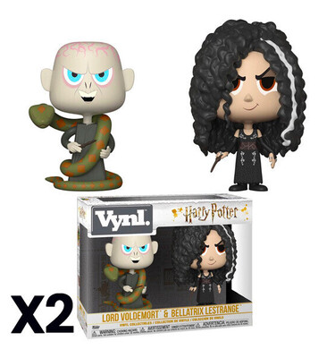 Funko Harry Potter Voldemort + Bellatrix