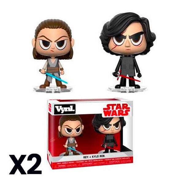 Funko Star Wars Rey + Kylo Ren