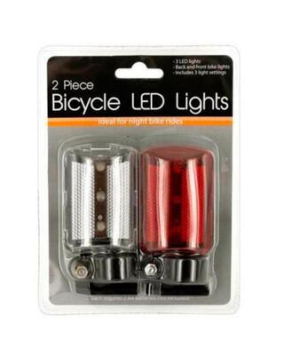 Set de 2 luces LED bicicleta