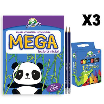 Kit de lectura inicial X3