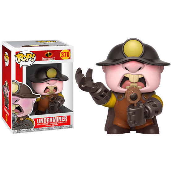 Funko Pop Disney Incredibles Underminer