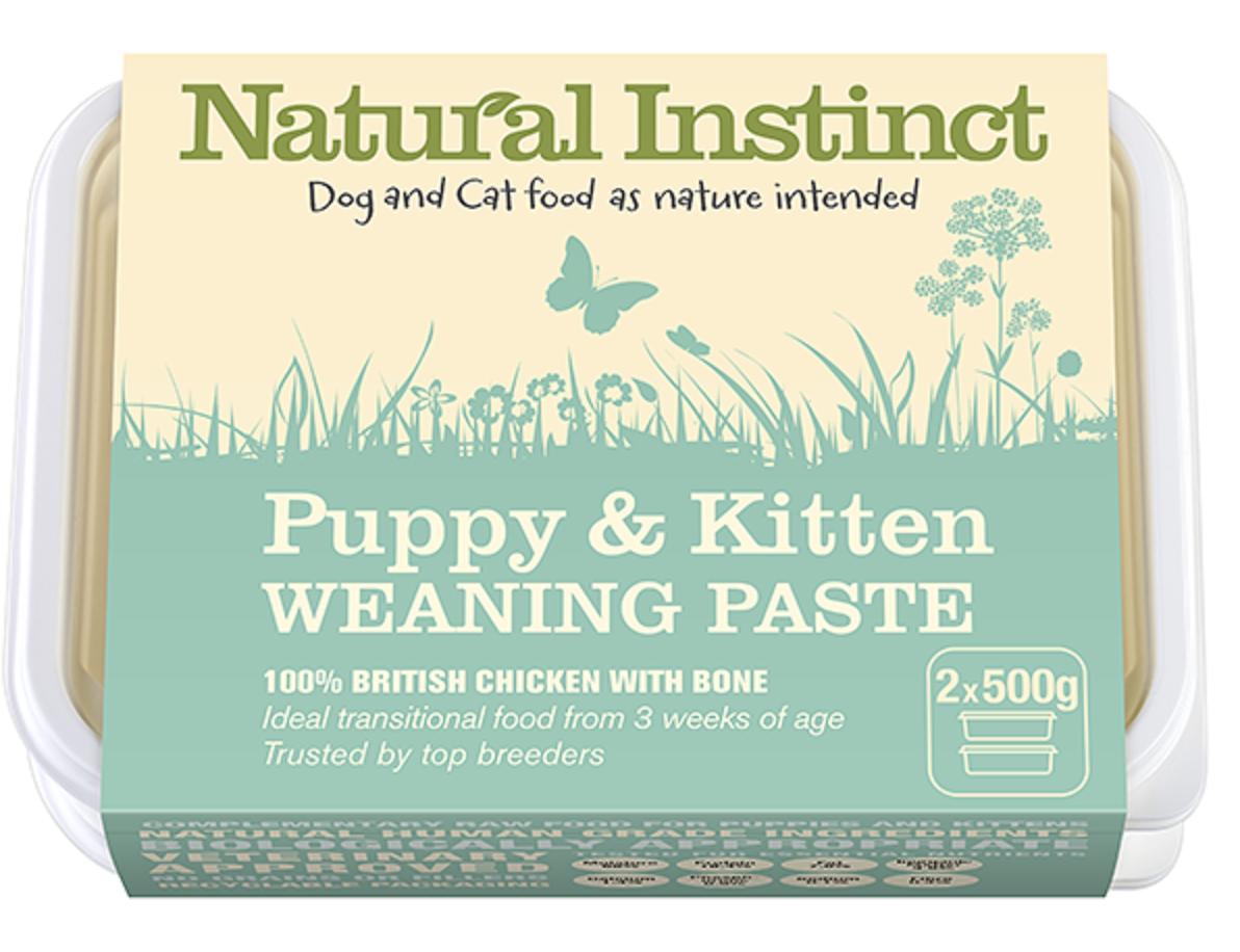 Natural Instinct - Puppy & Kitten Weaning Paste (2x500g) 00010