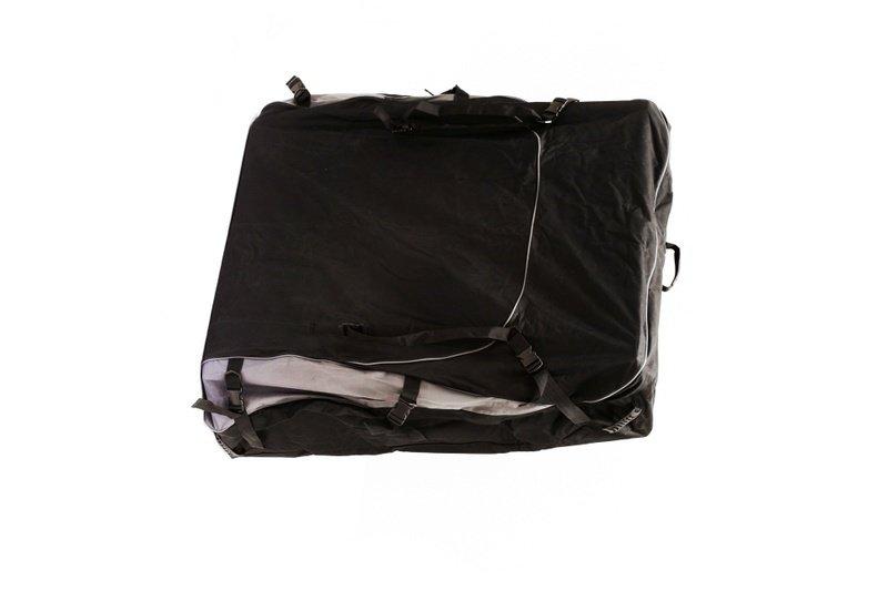 Сумка-чехол из синтетической ткани для защиты поклажи на верхнем багажнике (125x115x25см) Стократ 00658