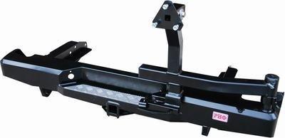 Бампер задний силовой с квадратом и калиткой РИФ NP300 кузов 1395 мм. 01795
