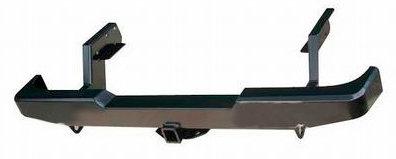 Бампер задний силовой с квадратом РИФ Mazda B2500/BT50/Ford Ranger 01806