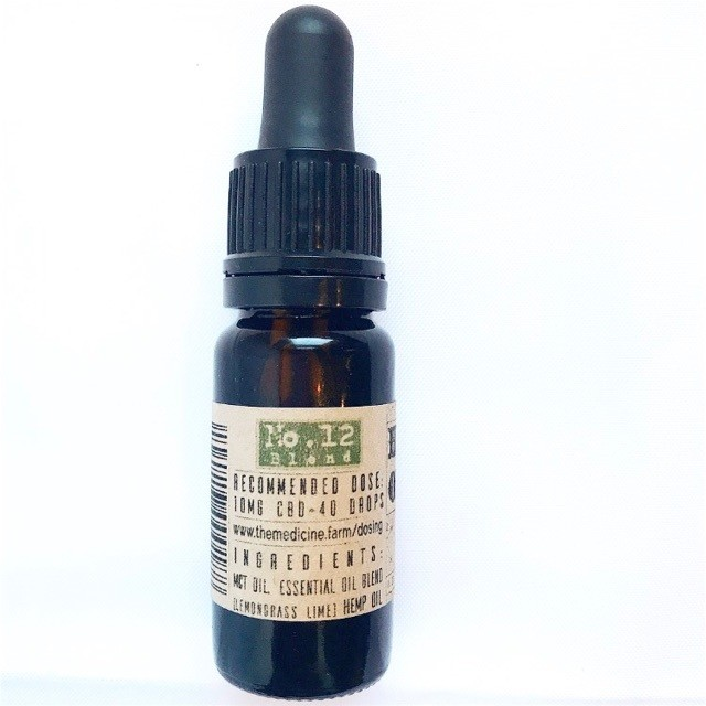 No. 12 Blend MCT Tincture 167mg