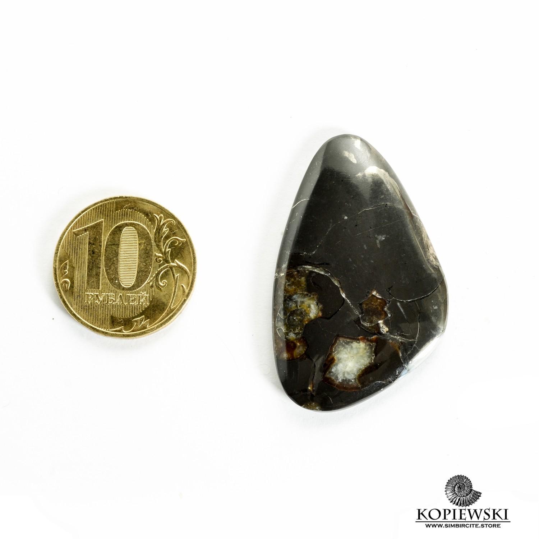Кабошон танатоценоз 40*25*3 мм
