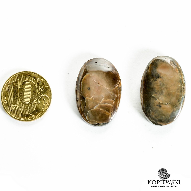 Парные кабошоны Симбирцит 30*20*3 мм